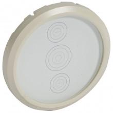Накладка на светорегулятор Legrand CELIANE, слоновая кость, 066285