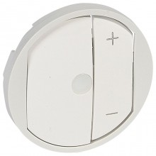 Накладка на светорегулятор Legrand CELIANE, белый, 068075