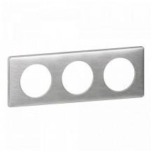 Рамка 3 поста Legrand CELIANE DIY, алюминий, 696963