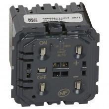 Механизм клавишного светорегулятора-переключателя Legrand CELIANE, 400 Вт, 067083