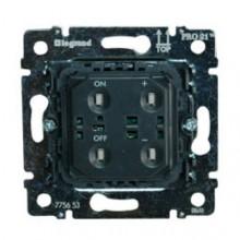 Механизм поворотного светорегулятора Legrand GALEA LIFE, 600 Вт, 775653