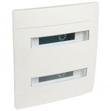 Распределительный шкаф Legrand Practibox 24 мод., IP40, встраиваемый, пластик, белая дверь, с клеммами, 601118