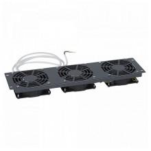 Полка с вентиляторами - для шкафов LCS² 19 - 1 U - 2 вентилятора - глубина 150 мм