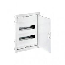 Распределительный шкаф Legrand Nedbox 24 мод., IP40, встраиваемый, пластик, бежевая дверь, с клеммами, 001411