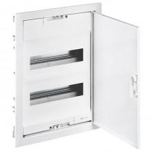 Распределительный шкаф Legrand Nedbox 24 мод., IP40, встраиваемый, пластик, прозрачная синяя дверь, с клеммами, 001422
