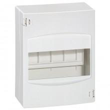 Распределительный шкаф Legrand Mini S, 6 мод., IP30, навесной, пластик, дверь, 001306
