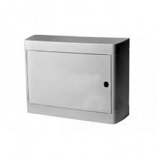 Распределительный шкаф Legrand Nedbox, 12 мод., IP40, навесной, пластик, белая дверь, с клеммами, 601236