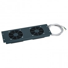 Пластина - 3 U - с 2 вентиляторами на 230 В~ - для терморегулирования - LCS²