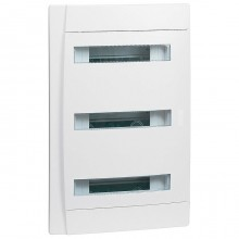 Распределительный шкаф Legrand Practibox 36 мод., IP40, встраиваемый, пластик, белая дверь, 601114
