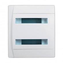 Распределительный шкаф Legrand Practibox 24 мод., IP40, встраиваемый, пластик, белая дверь, 601113