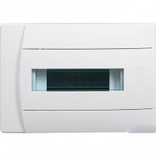 Распределительный шкаф Legrand Practibox 12 мод., IP40, встраиваемый, пластик, белая дверь, 601112