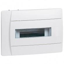 Распределительный шкаф Legrand Practibox 8 мод., IP40, встраиваемый, пластик, белая дверь, 601111