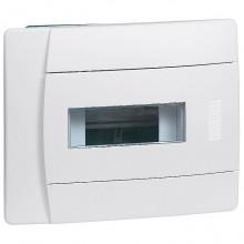 Распределительный шкаф Legrand Practibox 6 мод., IP40, встраиваемый, пластик, белая дверь, 601110