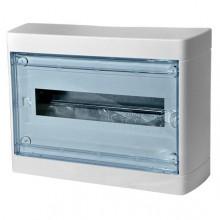 Распределительный шкаф Legrand Nedbox, 8 мод., IP41, навесной, пластик, прозрачная дверь, с клеммами, 601245
