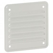 Металлическая вентиляционная решётка - IP32 - IK10 - RAL 7035 - 138 x 138 мм