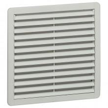 Пластмассовая вентиляционная решётка - RAL 7035 - фильтр EN 779, G3 - IP 54 - 150x150 мм