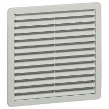 Пластмассовая вентиляционная решётка - RAL 7035 - фильтр EN 779, G3 - IP 54 - 325x325 мм