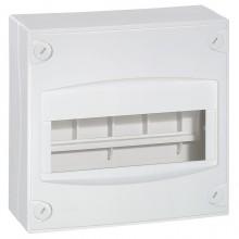 Распределительный шкаф Legrand XL³, 9 мод., IP30, навесной, пластик, дверь, 001308