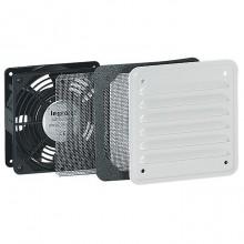 Вентилятор с металлической решеткой - 30/160 м³/ч - 230 В - 50/60 Гц - RAL 7035
