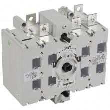 Реверсивный рубильник Legrand DCX-M 200А 3P, фронтальное исполнение, 431105