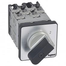 Кулачковый переключатель Legrand PR 12, 2 позиции, 16А, 027433