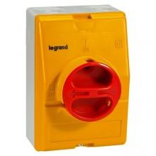 Рубильник Legrand 16А 4P, фронтальное исполнение, 022181