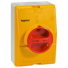 Рубильник Legrand 25А 3P, фронтальное исполнение, 022173