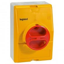 Рубильник Legrand 16А 3P, фронтальное исполнение, 022171