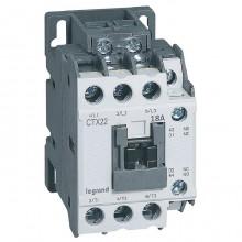 Контактор Legrand CTX³ 3P 18А 690/24В DC 7.5кВт, 416101