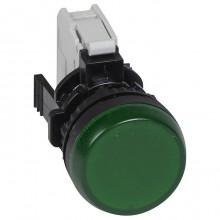 Лампа-индикатор Legrand Osmoz, 22.3мм, 230В, AC, Зеленый, 023792