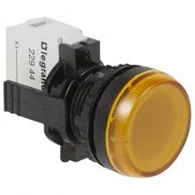 Лампа-индикатор Legrand Osmoz, 22.3мм, 230В, AC, Оранжевый, 023794