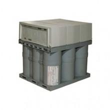 Вакуумированный конденсатор Alpivar2 - 6 клемм - тип Н - 400 В - без крышки - 12,5 квар