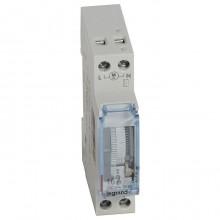 Суточный таймер - аналоговый - вертикальная шкала - 230 В~ - 1 Н.О. - 16 А - 250 В~ - без запаса ход