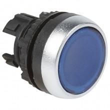 Головка кнопки Legrand Osmoz 22.3 мм, IP66, Синий, 024003