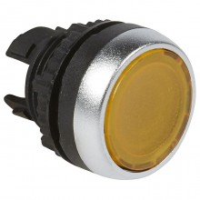 Головка кнопки Legrand Osmoz 22.3 мм, IP66, Оранжевый, 024004