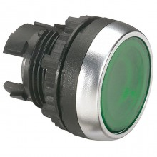 Головка кнопки Legrand Osmoz 22.3 мм, IP66, Зеленый, 024022