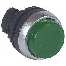 Головка кнопки Legrand Osmoz 22.3 мм, IP66, Зеленый, 024027
