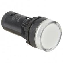 Лампа сигнальная Legrand Osmoz, 22.3мм, 24В, AC/DC, Белый, 024120