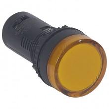 Лампа сигнальная Legrand Osmoz, 22.3мм, 24В, AC/DC, Оранжевый, 024124