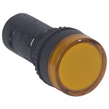Лампа сигнальная Legrand Osmoz, 22.3мм, 230В, AC, Оранжевый, 024144
