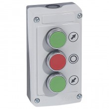 Кнопочный пост Legrand Osmoz, 3 кнопки, 024236