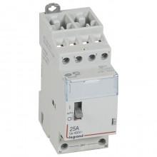 Модульный контактор Legrand CX³ 4P 25А 400/24В AC, 412517