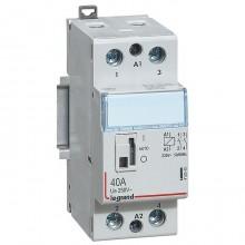 Модульный контактор Legrand CX³ 2P 40А 250/230В AC, 412545