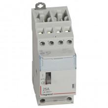 Модульный контактор Legrand CX³ 4P 25А 400/230В AC, 412551