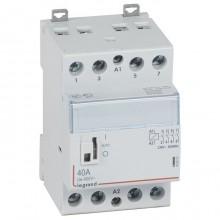 Модульный контактор Legrand CX³ 4P 40А 400/230В AC, 412553
