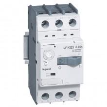Силовой автомат для защиты двигателя Legrand MPX³ 0.16А 3P, термомагнитный расцепитель, 417300
