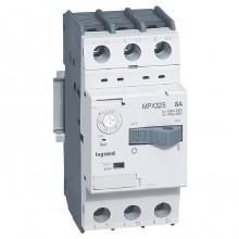 Силовой автомат для защиты двигателя Legrand MPX³ 8А 3P, термомагнитный расцепитель, 417309