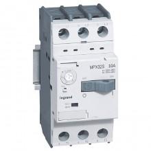 Силовой автомат для защиты двигателя Legrand MPX³ 10А 3P, термомагнитный расцепитель, 417310
