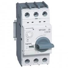 Силовой автомат для защиты двигателя Legrand MPX³ 1А 3P, термомагнитный расцепитель, 417324