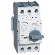 Силовой автомат для защиты двигателя Legrand MPX³ 17А 3P, термомагнитный расцепитель, 417332